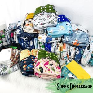 Super Demarrage - Couche Lavable - Bambo