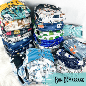 Bon Demarrage - Couche Lavable - Bambou