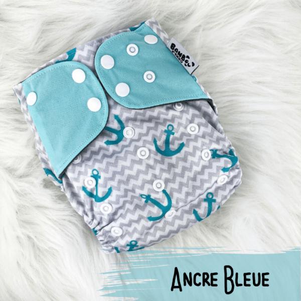 Ancre Bleue - Couche lavables - Bambou d