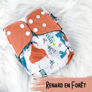 Renard en Foret - Couche lavables - Bamb