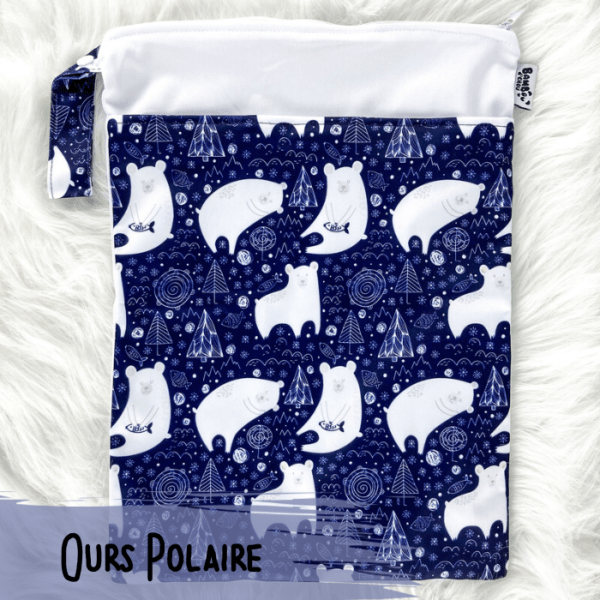Ours Polaires - Sac de Transport - Bambo