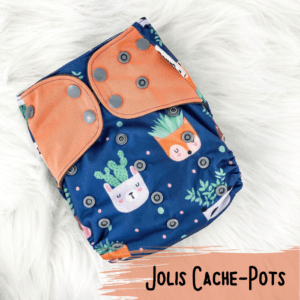 Jolis Cache-Pots - Couche lavables - Bam
