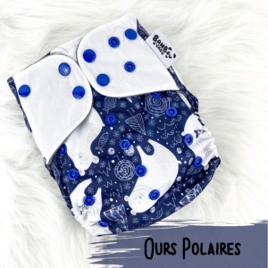 Ours Polaires - Couche lavables - Bambou