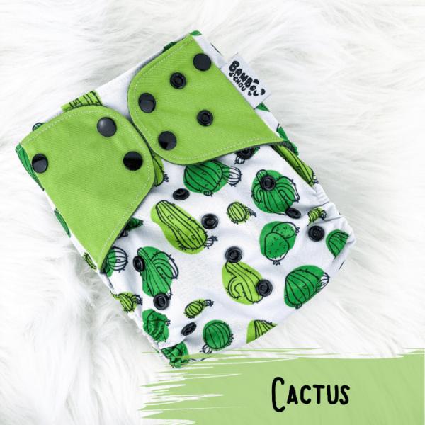 Cactus - Couche lavables - Bambou d'Chou