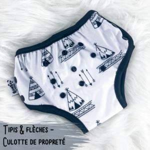 tipis et fleches - Culotte de propreté.p