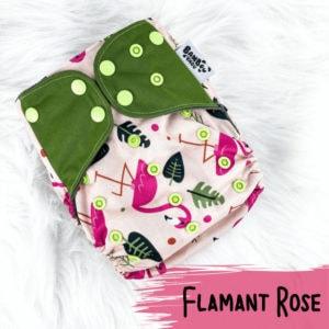 Flamant Rose – Couche Lavable