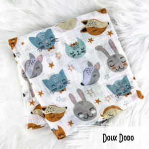 Doux Dodo - Doudou Mousseline - Bambou d
