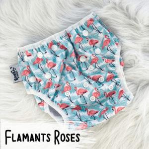 Flamants Roses – Couche de Piscine