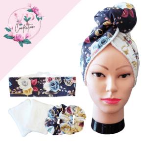 Bijouterie florale – Ensemble complet