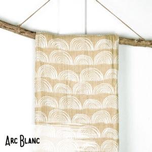Arc Blanc – Mousseline 100% Coton