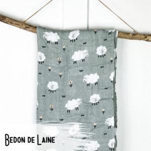 Bedon de Laine – Mousseline Bambou/Coton