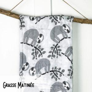 Grasse Matinée – Mousseline Bambou/Coton